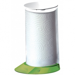 Stojak na ręczniki papierowe Glamour zielony - BUGATTI