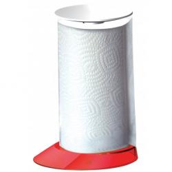 Stojak na ręczniki papierowe Glamour czerwony - BUGATTI