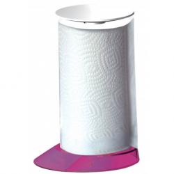 Stojak na ręczniki papierowe Glamour lila - BUGATTI