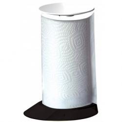 Stojak na ręczniki papierowe Glamour czarny - BUGATTI
