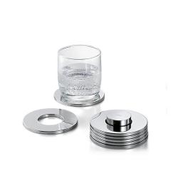 Podkładki pod szkło Rings 6 szt., 9.5 cm - PHILIPPI