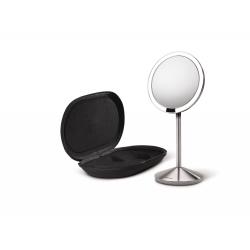 Lustro sensorowe mini - bezprzewodowe z pokrowcem - SIMPLEHUMAN