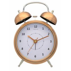 Budzik Wake Up (15 cm) miedziany - NEXTIME