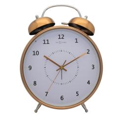 Budzik Wake Up (23 cm) miedziany - NEXTIME