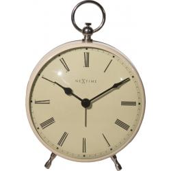 Zegar stojący Charles, biały - NEXTIME