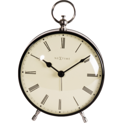 Zegar stojący Charles, czarny - NEXTIME