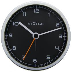 Zegar stojący Company Alarm czarny - NEXTIME
