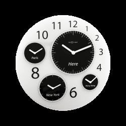 Zegar ścienny Big World, 52 cm - NEXTIME