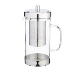 Dzbanek do herbaty z zaparzaczem 1 L - szkło - Kitchen Craft