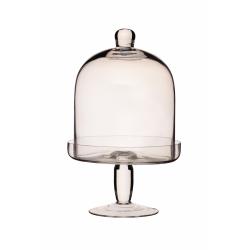 Patera szklana z kloszem - Kitchen Craft