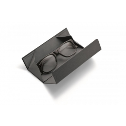 Magnetyczne etui na okulary Alegro, ciemnoszare - PHILIPPI