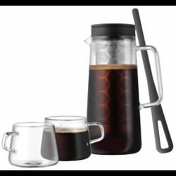 Zaparzacz do kawy z filtrem Coffee Time + dwie filiżanki gratis - WMF