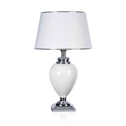 Lampa stołowa SANSSOUCI biała  30x53cm, 4399 - ENVY