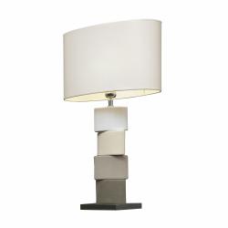 Lampa stołowa CHANELA szara, 4101 - ENVY