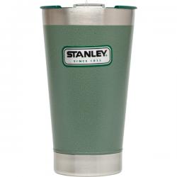 Stalowy kufel termiczny Classic, zielony, 0,47 l - STANLEY