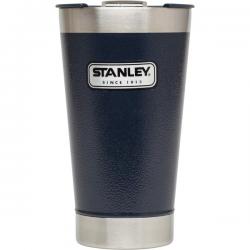 Stalowy kufel termiczny Classic, granatowy, 0,47 l - STANLEY