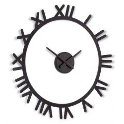 Zegar ścienny TIMA, czarny - UMBRA