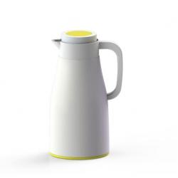 Termos Evo-Dewar 1l, biało-żółty - PO: Selected