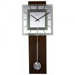 Zegar ścienny z wahadłem Retro Pendulum Square, 80 cm - NEXTIME