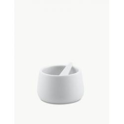 Pojemnik porcelanowy z łyżeczką Nordic, 8 cm - SKAGERAK