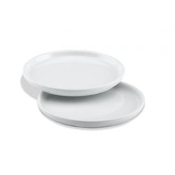 Zestaw dwóch porcelanowych talerzyków Nordic - SKAGERAK