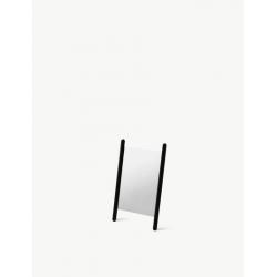 Małe lustro Georg 35 x 55 cm, dąb, czarne - SKAGERAK