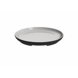 Talerz ceramiczny do serwowania White Line 20 cm - MAGISSO