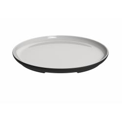 Talerz ceramiczny do serwowania White Line 27 cm - MAGISSO