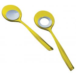 Łyżki do sałaty Glamour, żółte - BUGATTI