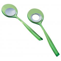 Łyżki do sałaty Glamour, zielone - BUGATTI