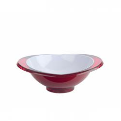 Salaterka Glamour 1,5l, czerwona - BUGATTI