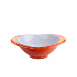 Salaterka Glamour 1,5l, pomarańczowa - BUGATTI