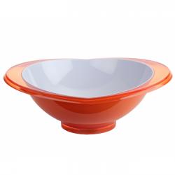 Salaterka Glamour 2,5l, pomarańczowa - BUGATTI