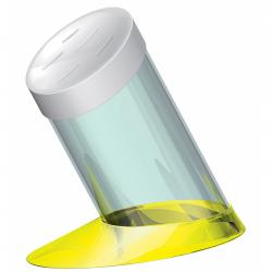 Blok na noże Glamour, żółty - BUGATTI