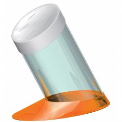 Blok na noże Glamour, pomarańczowy - BUGATTI