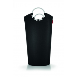 Kosz na pranie Looplaundry, czarny 72x40x60 cm - REISENTHEL