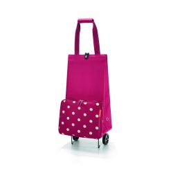 Wózek na zakupy foldabletrolley ruby dots - Reisenthel