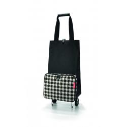 Wózek na zakupy foldabletrolley fifties black - Reisenthel