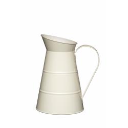 Dzban stalowy 2.3L - kremowy - Kitchen Craft