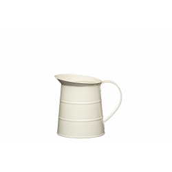 Dzbanek stalowy 1.1L - kremowy - Kitchen Craft