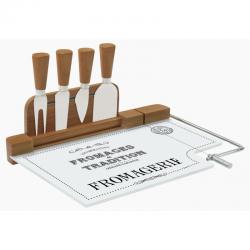 Krajalnica bambusowa do sera z nożami 810 DEGO - NUOVA R2S