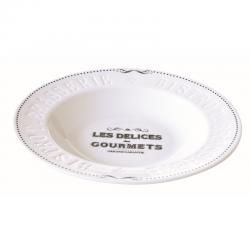 Talerz porcelanowy 22 cm, 847 DEGO - Nuova R2S