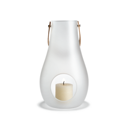 Latarnia na świecę Design With Light 29 cm, matowa - HOLMEGAARD