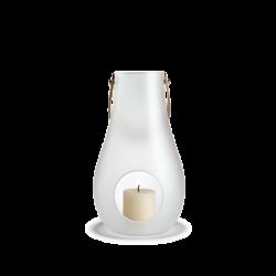 Latarnia na świecę Design With Light 24,8 cm, matowa - HOLMEGAARD