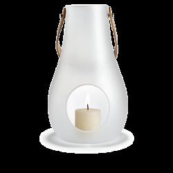 Latarnia na świecę Design With Light 45 cm, matowa - HOLMEGAARD