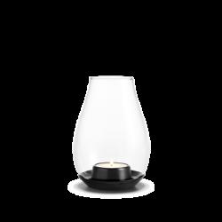 Latarnia Design With Light z czarną podstawą, 14,5 cm - HOLMEGAARD