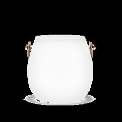 Wazon Design With Light, matowy, 10 cm - HOLMEGAARD