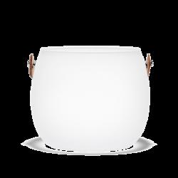 Wazon Design With Light, matowy, 12 cm - HOLMEGAARD