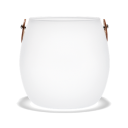 Wazon Design With Light, matowy, 16 cm - HOLMEGAARD