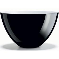 Misa Cocoon czarna, 20 cm - HOLMEGAARD